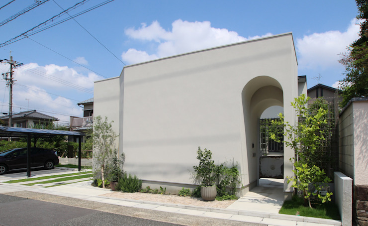 Sakurayama-Architect-Design Eclectic style houses