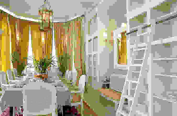 Ruang Makan oleh DecorAndDesign, Klasik