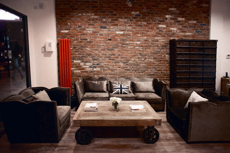 Hampstead Design Hub Rustic style office buildings by Hampstead Design Hub Rustic