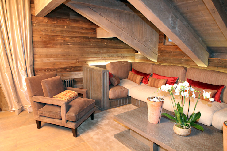 Courchevel France Modern houses by Halo Design Interiors Modern