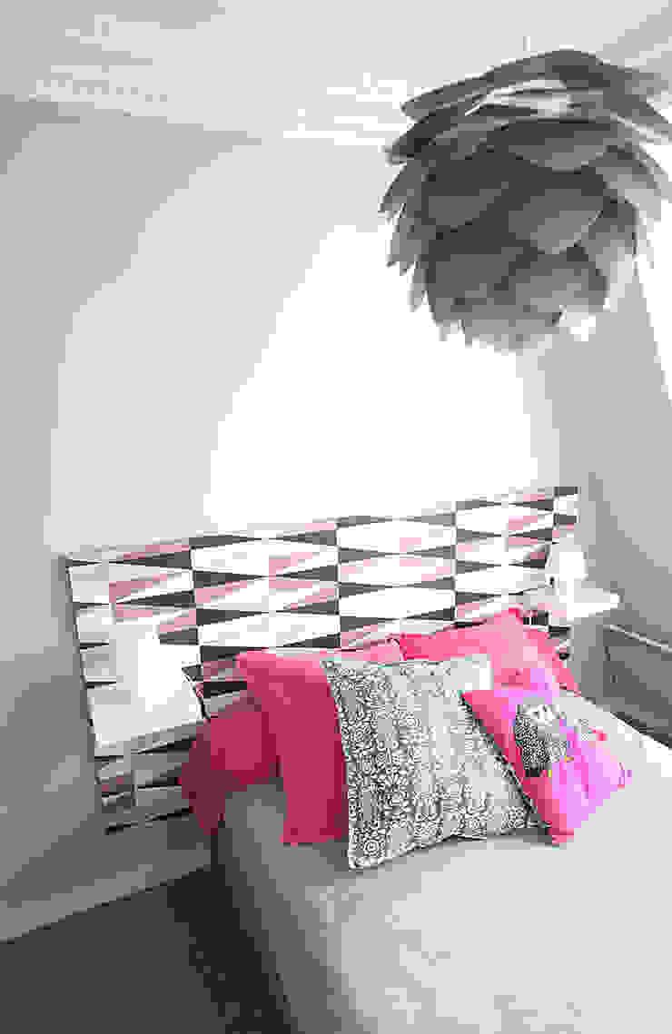 Chambre à coucher Chambre originale par Sandra Dages Éclectique
