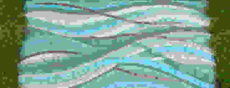 Mosaique Extérieure Jardin moderne par Lechevallier stephanie Moderne
