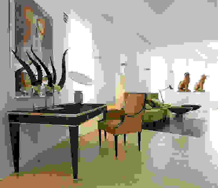 Colaboración CasaDecor 08 Estudios y despachos de estilo colonial de Coup de Grâce design & events Colonial