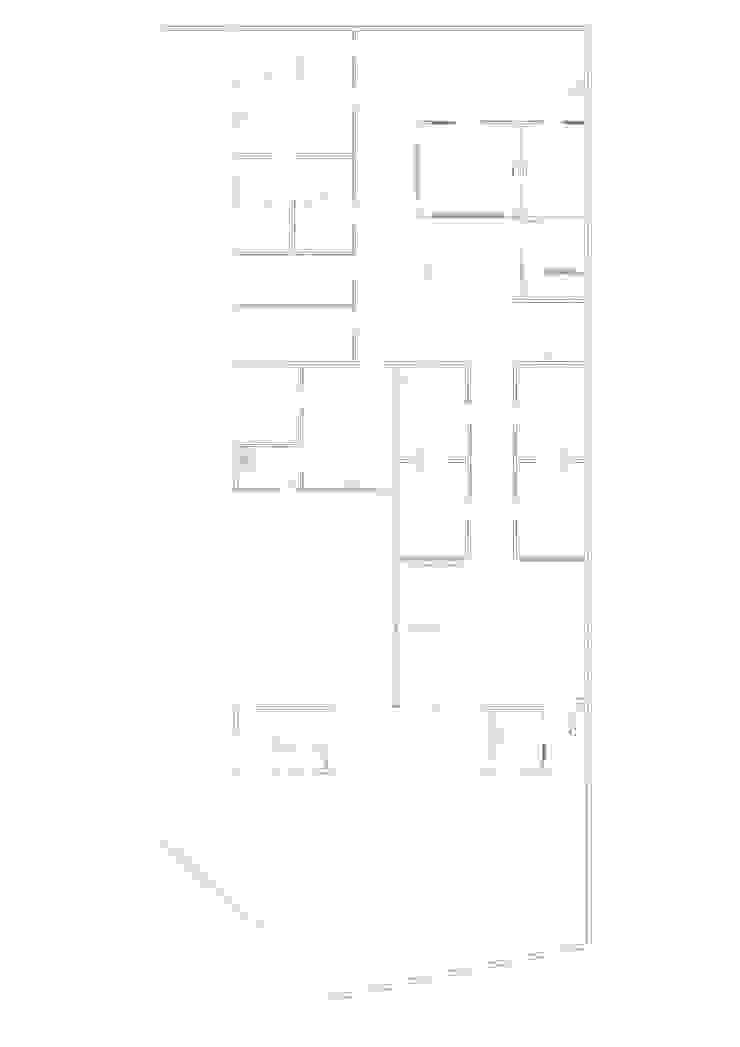 Plano distribución Oficinas y tiendas de estilo moderno de Coup de Grâce design & events Moderno
