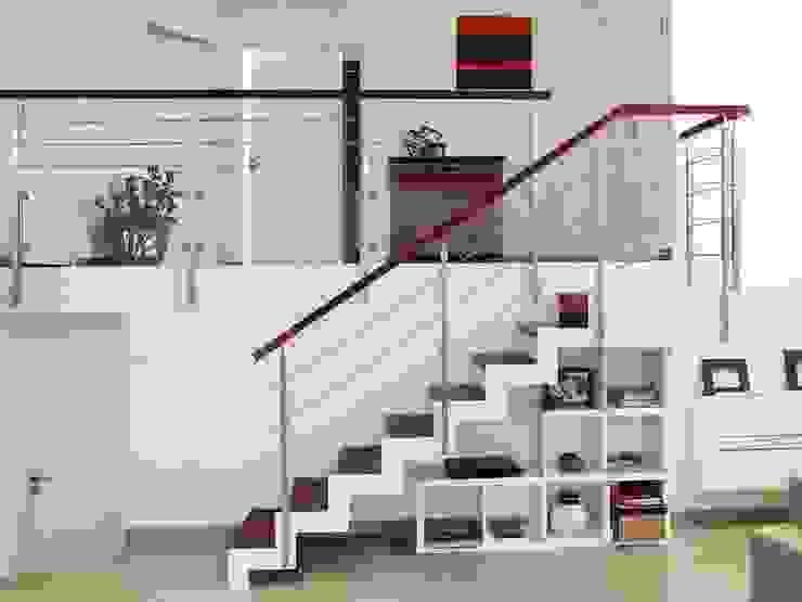de Passion Escaliers Moderno Madera Acabado en madera