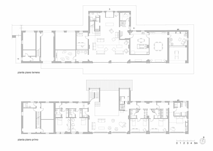 Classic style houses by Carlo Bellini architetto Classic