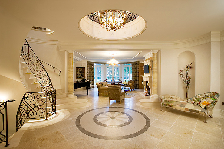 Entrance Hall Classic style houses by Christopher Cook Designs Limited Classic
