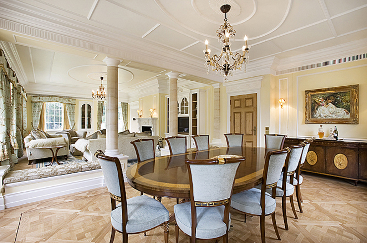 Principal Dining Area Classic style houses by Christopher Cook Designs Limited Classic