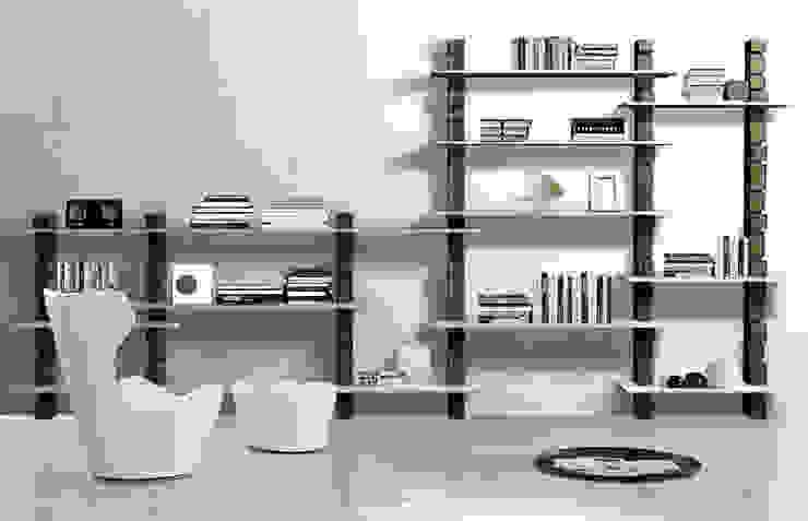 Giuseppe Viganò Living roomShelves