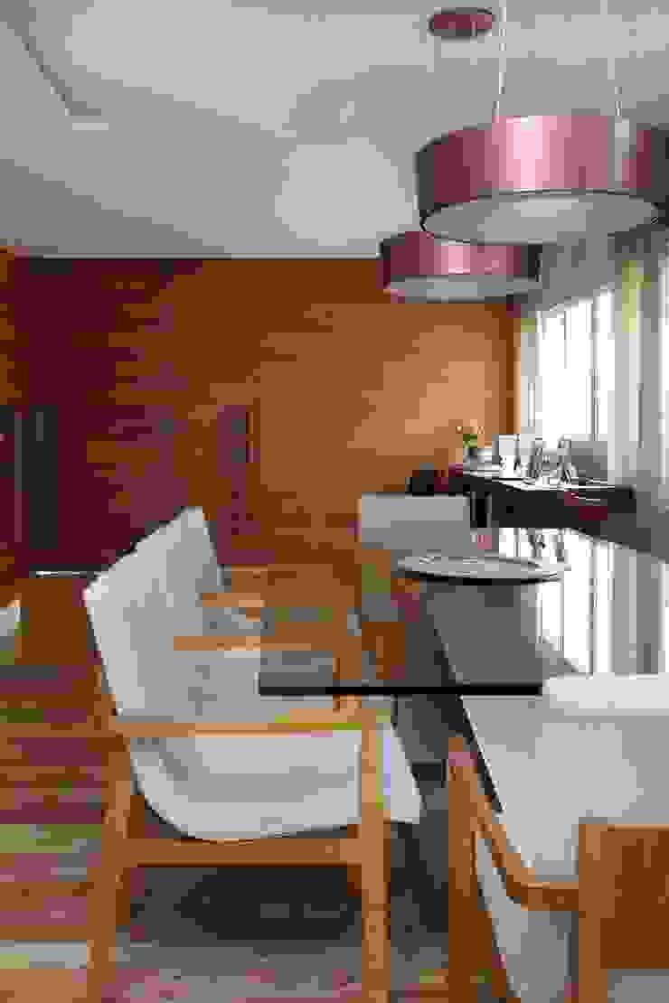 Cidade Jardim | Residenciais Salas de jantar modernas por SESSO & DALANEZI Moderno