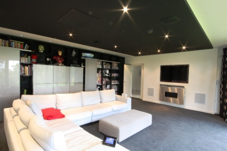 Cinema Room Modern media room by Inspire Audio Visual Modern