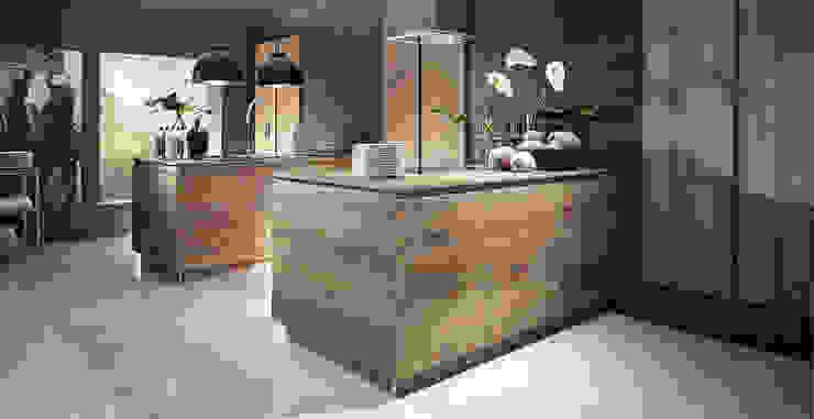 Porto Woodline GLX Chêne pastis par Schott Cuisines Moderne