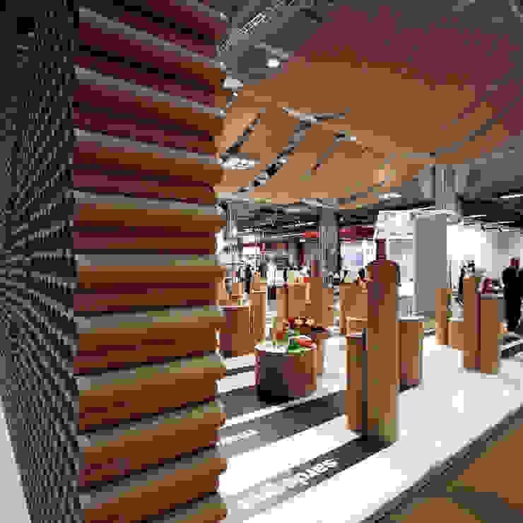 Campionaria Qualità Allestimenti fieristici in stile industrial di Principioattivo Architecture Group Srl Industrial