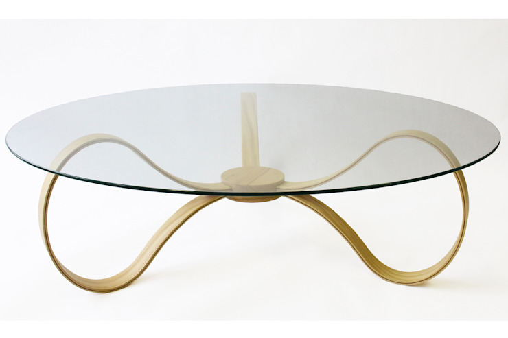 Banjash Coffee Table: scandinavian  by M-Dex Design, Scandinavian