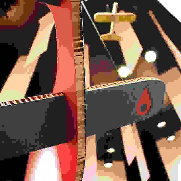 Box de carton Allestimenti fieristici in stile industrial di Principioattivo Architecture Group Srl Industrial