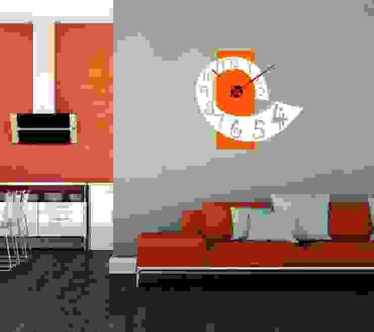 Reloj de pared vinilo adhesivo de relojesyvinilos