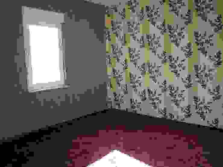 Schlafzimmer vor dem Staging Raumpraesenz-Homestaging