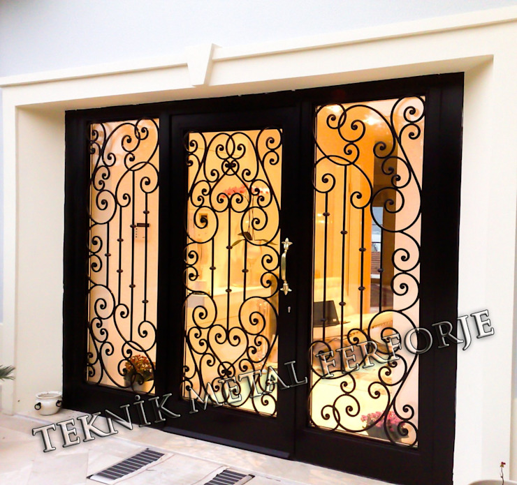 Teknik Metal Ferforje Classic style windows & doors