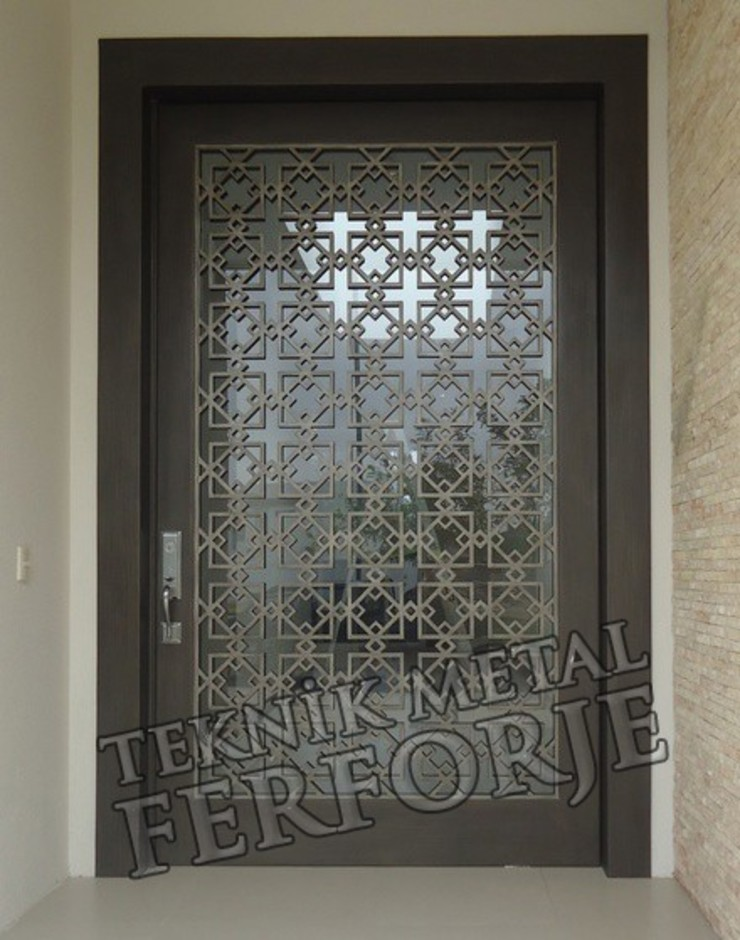 Modern Windows and Doors by Teknik Metal Ferforje Modern
