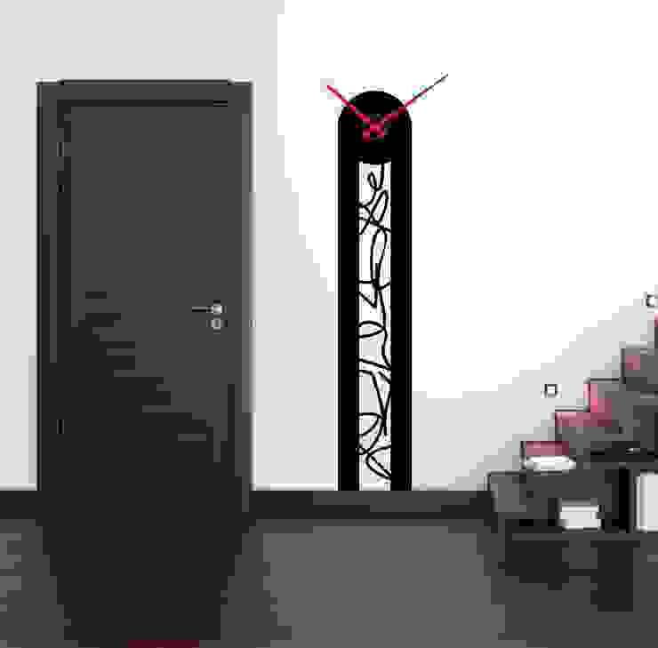 Reloj de pared vertical de relojesyvinilos