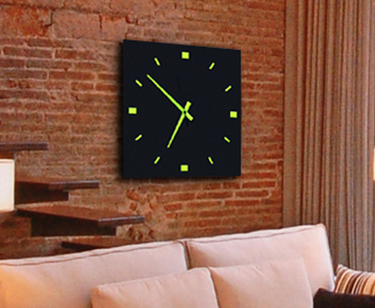 reloj pared diseño FQNP de GRECAR IDEA SL Moderno