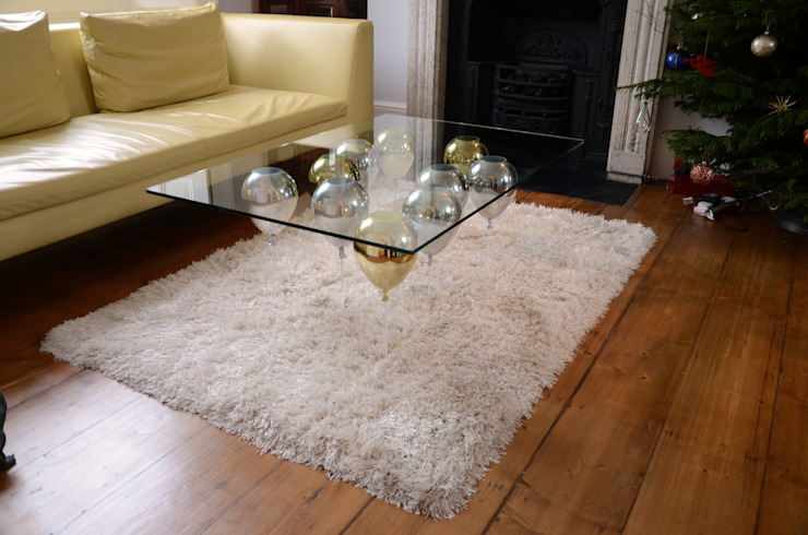 ​The Up Balloon Coffee Table gold/silver من Duffy London