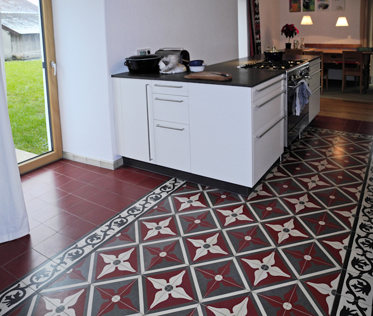 Encaustic Cement Tiles por Original Features Mediterrâneo