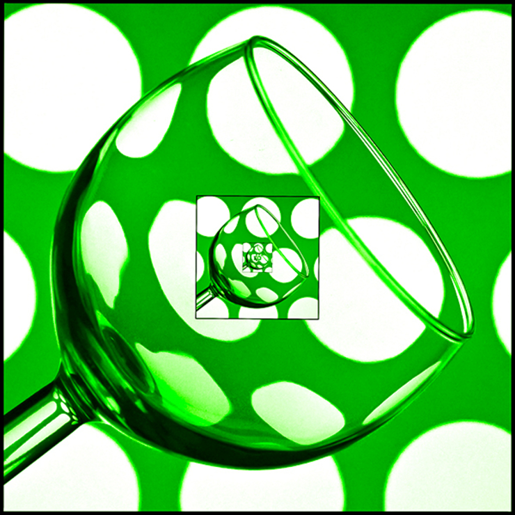 Infinite Glass Green: eclectic  by Steve Purnell, Eclectic