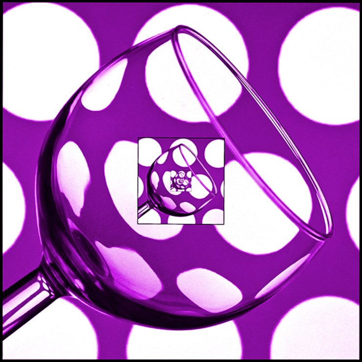Infinite Glass Purple: eclectic  by Steve Purnell, Eclectic