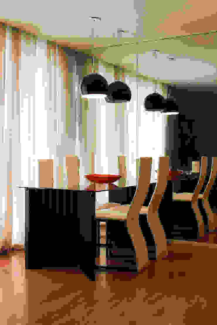 Sala de jantar Salas de jantar modernas por Dobra Arquitetura Moderno