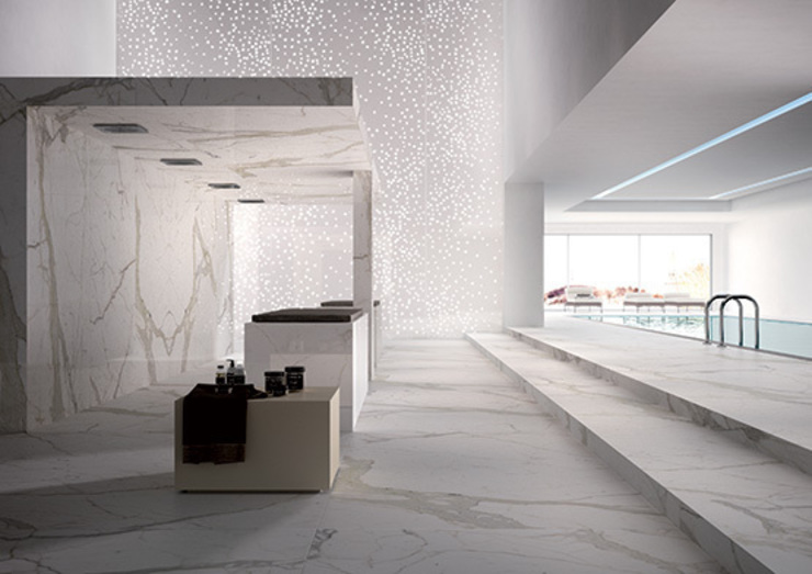 Maxfine Calacatta Modern walls & floors by Tile Supply Solutions Ltd Modern Tiles