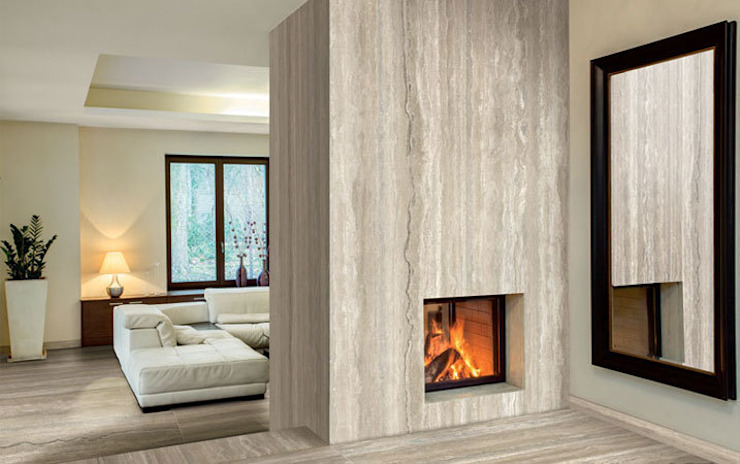 Maxfine Travertino Modern walls & floors by Tile Supply Solutions Ltd Modern Tiles