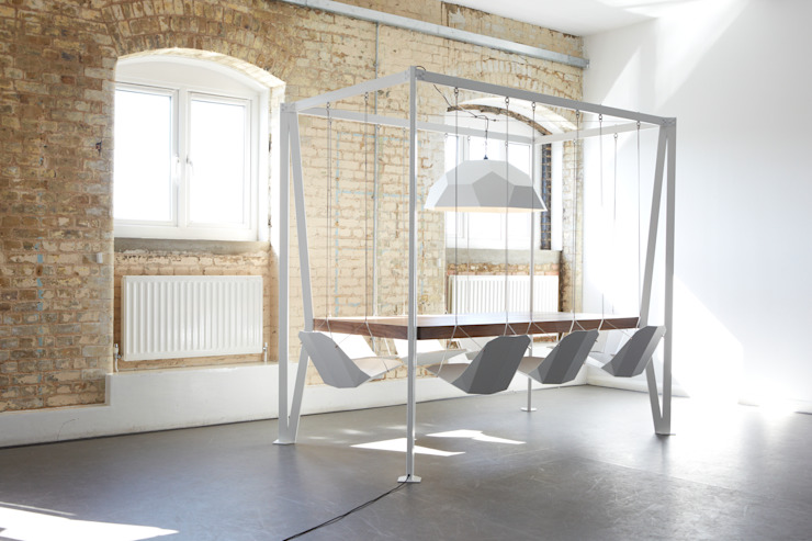 ​Swing Table 8 person: eclectic  by Duffy London, Eclectic