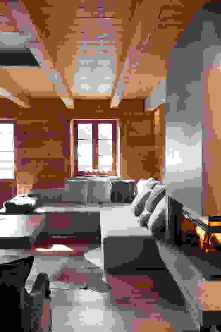 Ruang Keluarga Gaya Skandinavia Oleh archstudiodesign Skandinavia