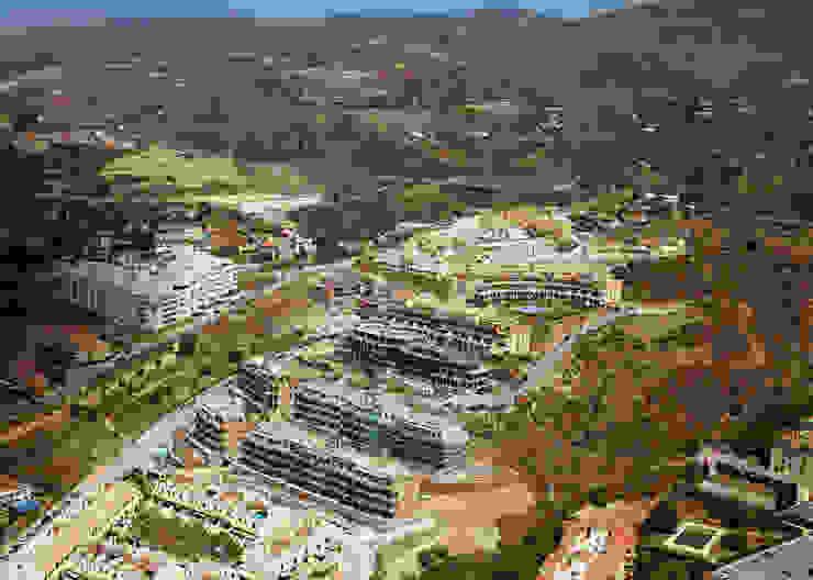 Parque Residencial Bezmiliana Espacios de santacruz y asociados estudio de arquitectura