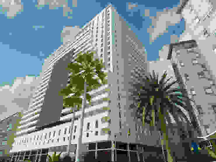 Edificio viviendas Valencia Espacios de santacruz y asociados estudio de arquitectura