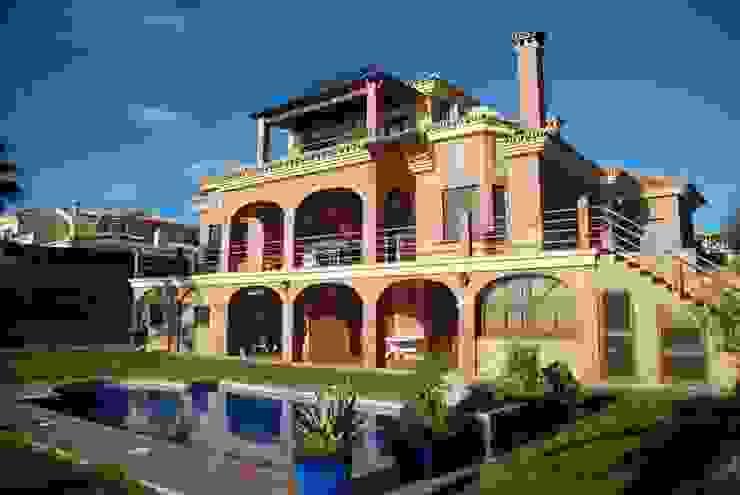 Chalet mediterráneo Espacios de santacruz y asociados estudio de arquitectura