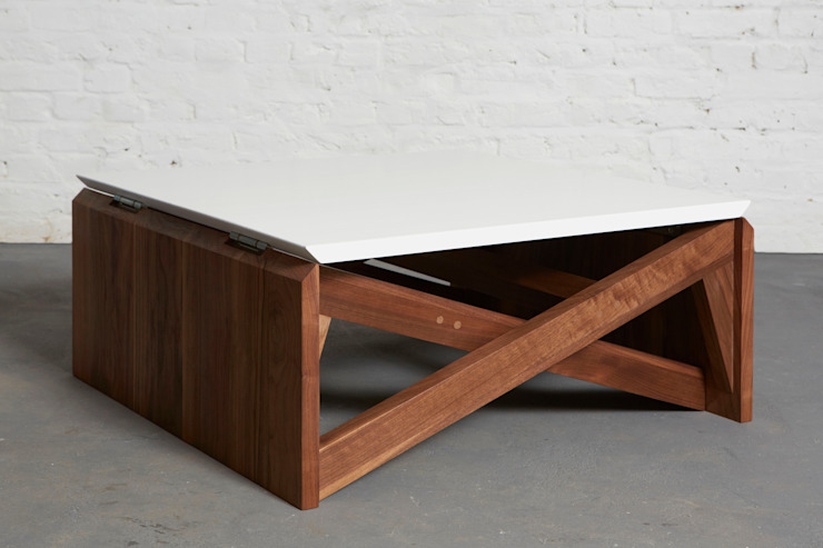 MK1 TRANSFORMING COFFEE TABLE WOOD Duffy London
