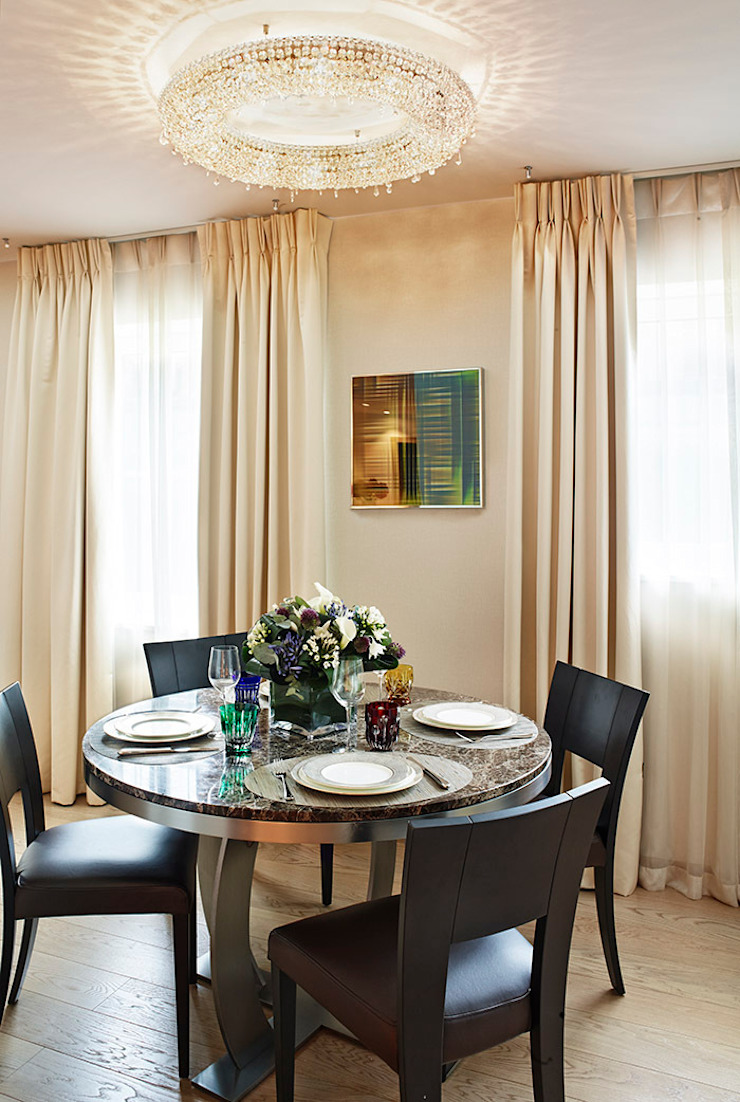 Harrod's Court Modern dining room by Anna Casa Modern