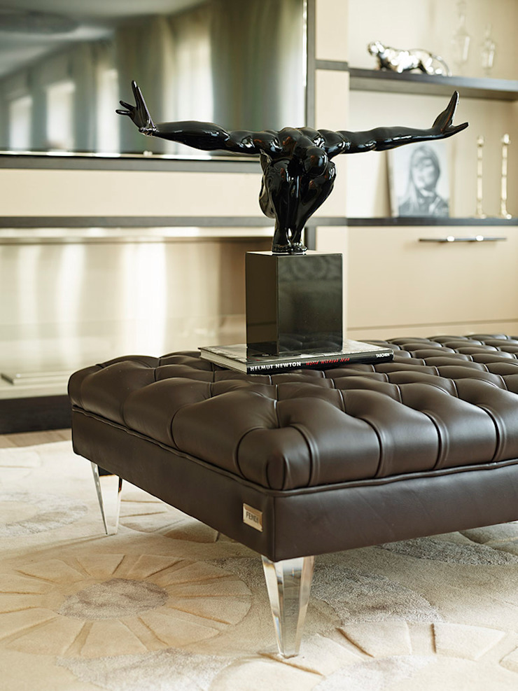 Harrod's Court Modern living room by Anna Casa Modern