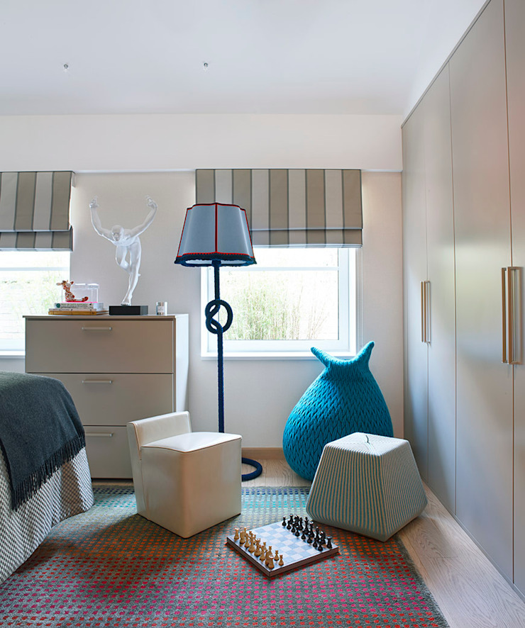 Harrod's Court Modern style bedroom by Anna Casa Modern