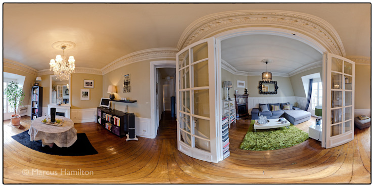 Funky apartment 360: eclectic  by Hamilton 360, Eclectic