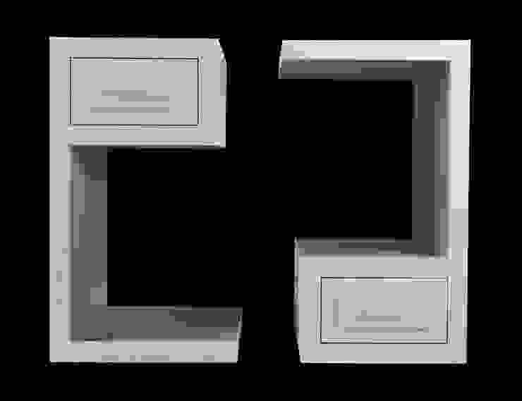 330 BEDSIDE TABLES di Francesco Della Femina Moderno