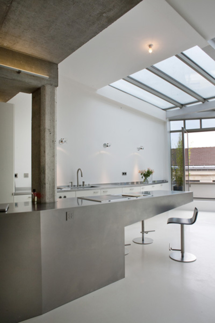 Loft LK, Paris Cuisine moderne par Olivier Chabaud Archtct Moderne