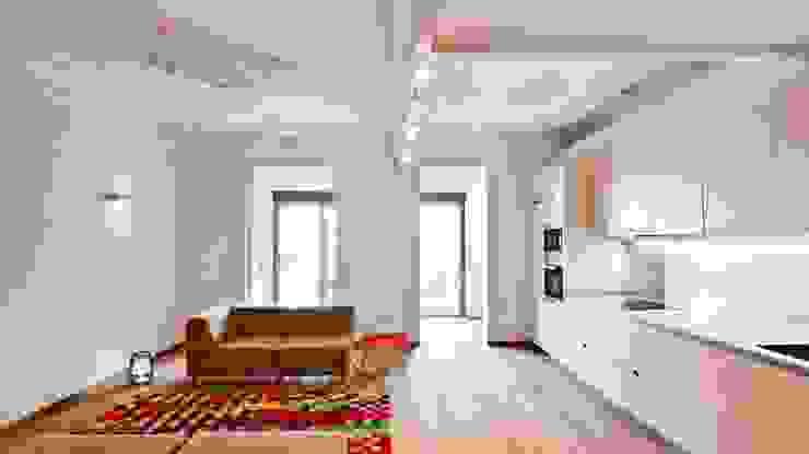 Salón y cocina Salones de estilo clásico de Diseño y Comunicación Online Clásico
