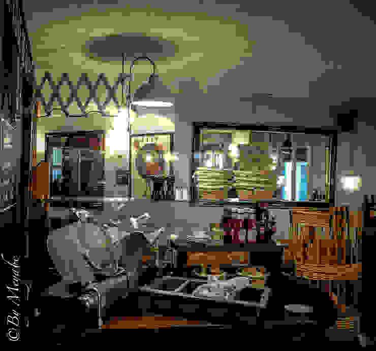 Salle à manger Gastronomie industrielle par Sandra Dages Industriel