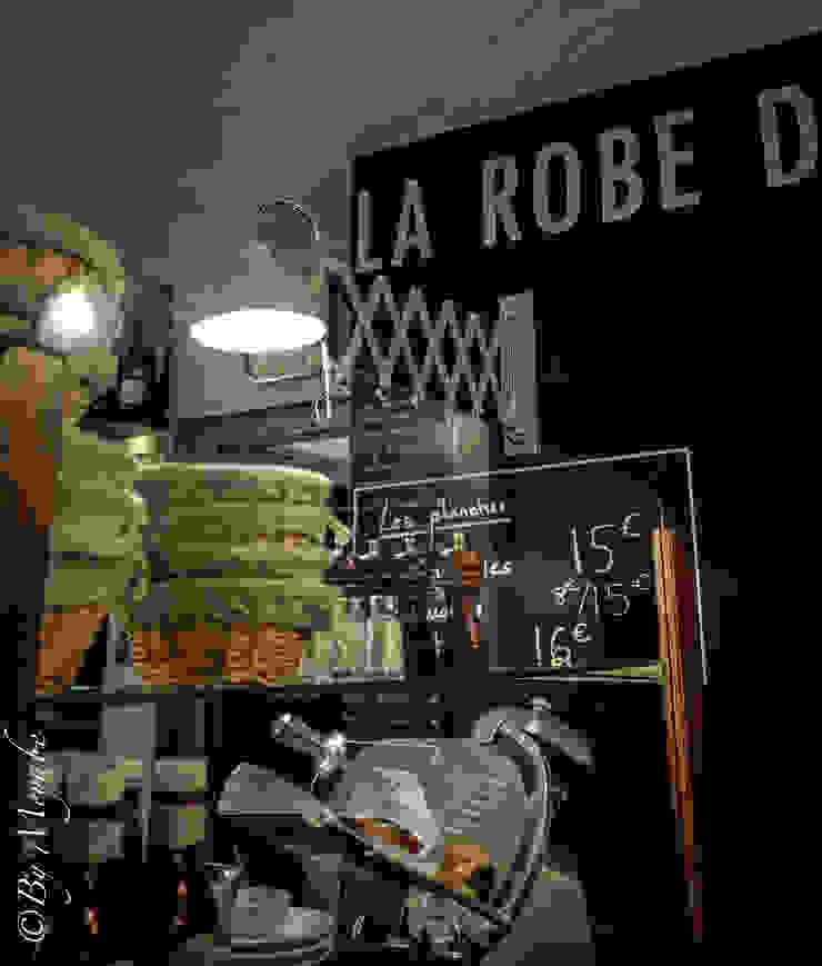 Restaurant la robe de la Girafe Gastronomie industrielle par Sandra Dages Industriel