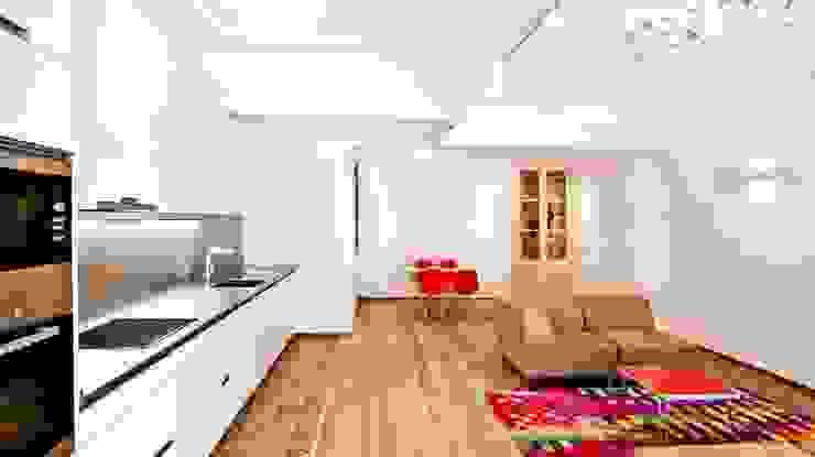 Cocina, comedor, salón Cocinas de estilo clásico de Diseño y Comunicación Online Clásico