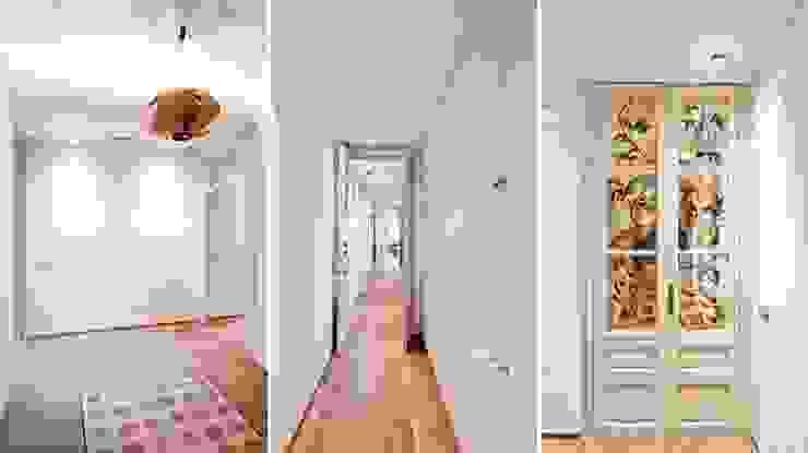Entrada y pasillos Pasillos, vestíbulos y escaleras de estilo clásico de Diseño y Comunicación Online Clásico