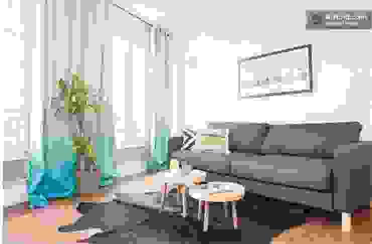 Salas de estar ecléticas por Sandra Dages Eclético